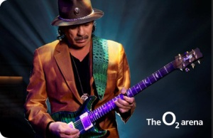 Carlos Santana to Tour the UK and Eire